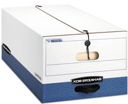 Bankers Box Liberty Heavy-Duty Storage Boxes, Legal, 4 Pack,