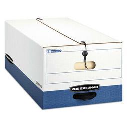 Liberty Max Strength Storage Box, Legal, 15 x 24 x 10, White