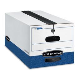 Bankers Box LIBERTY PLUS Heavy-Duty Storage Boxes, FastFold,