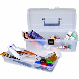 ArtBin  Lift-Out Tray Storage Box- 14-Inch Clear Art Supply