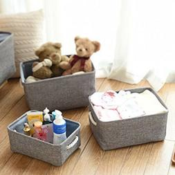 Linen Storage Baskets Bins Toy Boxes Laundry Organizer with