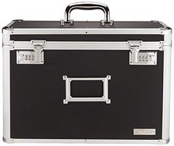 Vaultz Locking Personal File Tote for Legal Size Documents,