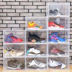 magnetic shoe storage box drop side front