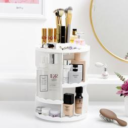 makeup cosmetic rack holder 360 degree rotating