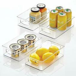 mDesign Kitchen Cabinet and Pantry Storage Organizer Bins -