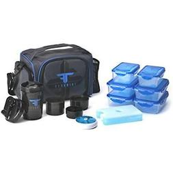 Meal Bag Lunch Box Meals Insulated Thermal Cooler Compartmen