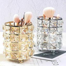 Makeup Brush Storage Box Eyebrow Pencil Organizer Bead Cryst