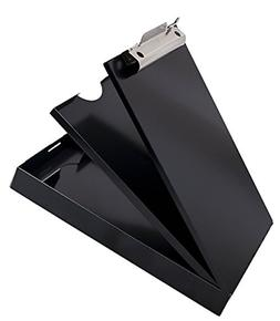 Metal Storage Clipboard Letter Office Document Paper Box Org