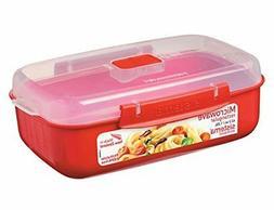 Sistema Microwave Cookware Rectangular Bowl, 41.6 Ounce/ 5.2