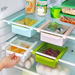 Mini Fridge Slide Drawer Freezer Storage Rack Box Kitchen Ac
