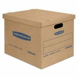 Bankers Box Moving and Storage Boxes, Kraft, 8/Carton
