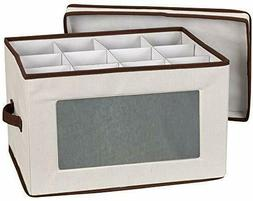 Household Essentials Natural 542 Vision Storage Box with Lid