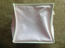 NEW POTTERY BARN KIDS PINK MADDIE CANVAS POP UP TOTE HOME DE