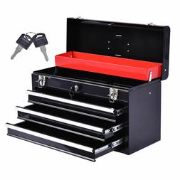 New Portable Tool Chest Box Storage Cabinet Garage Mechanic