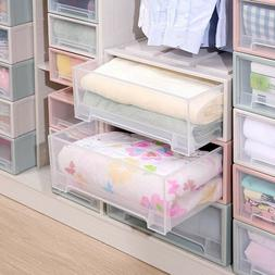 New Stackable Box Chest Plastic  Drawer Unit Organizer Wardr