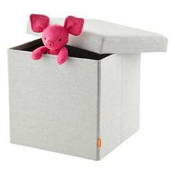 nib storage box seat organizer and ottoman