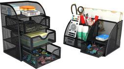 office supplies mesh desk organizer set accessories