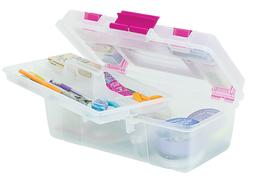 Creative Options 114-082 Molded Storage Craft Box with Lift-