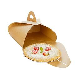 Pastry To Go Box, Cake To Go Box, Pie To Go Box with Handle