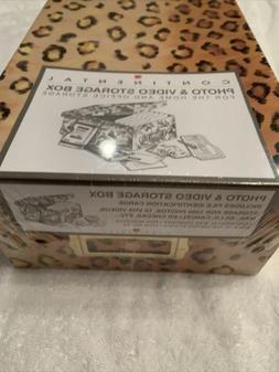 Photo & Video Storage Box-10 VHS Videos Vintage