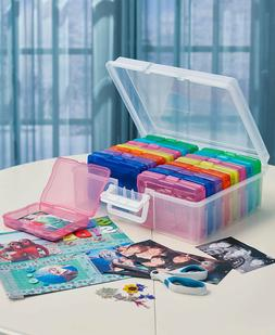 PHOTO STORAGE BOX 1600 Photo Organizer Case Sort Photo Pictu