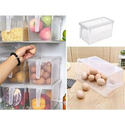 Plastic Accessories Kitchen Refrigerator Food Container Stor