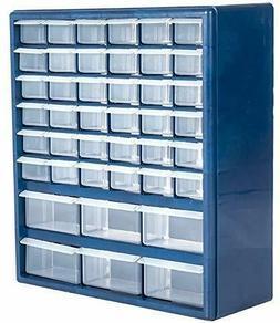 Plastic Cabinet 42-Drawer Hardware Craft Parts Tool Home Bin