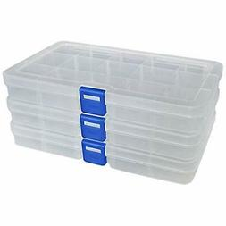 plastic craft and sewing supplies storage organizer