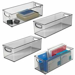 plastic home office storage organizer 16 long