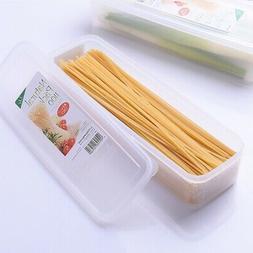 Plastic Kitchen Food Cereal Grain Bean Rice Storage Pot Cont