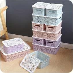 Plastic Socks <font><b>Storage</b></font> <font><b>Box</b></