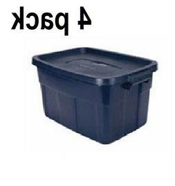PLASTIC STORAGE CONTAINERS Rubbermaid 14 Gallon Tote Box Bin