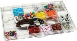 "Plastic Storage Box - 6.5"" x 10.5"" x 0.9"