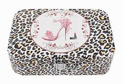 Jewelry Box Jewelry Organizer Portable Ornaments Storage Ca