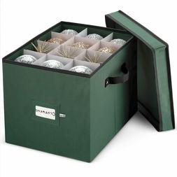 premium ornament storage box fits 36 of