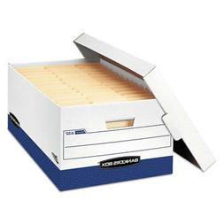Bankers Box Presto Maximum Strength Storage Box, Lgl 24
