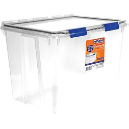 Hefty PROTECT Heavy Duty Storage, 70 Qt. Lid with Protective