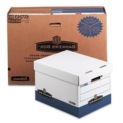 ** R-Kive Max Storage Box, Letter/Legal, Locking Lid, White/