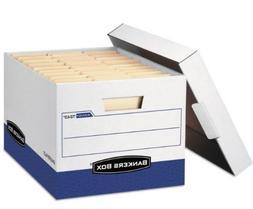 Bankers Box R-KIVE 7243 Max Storage Box Letter/Legal Locking