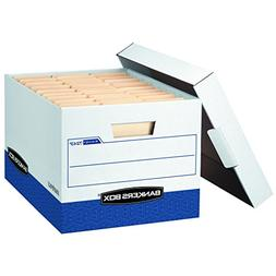 Bankers Box R-Kive File Storage Boxes with Lift-Off Lid, Let