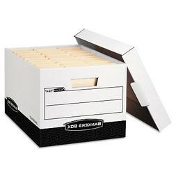 Bankers Box R-KIVE Max Storage Box Legal/Letter Locking Lid