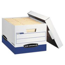 Bankers Box R-KIVE Max Storage Box Letter/Legal Locking Lid