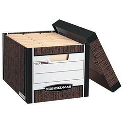 Bankers Box R-Kive Storage Box,Letter, Legal - Internal Dime
