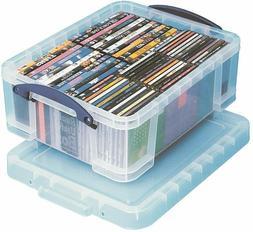 "Really Useful Box Plastic Storage Box, 17 Liters, 18 7/8"" x"