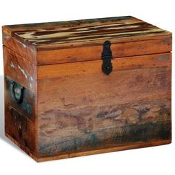 Reclaimed Storage Box Solid Wood Home Organization Drawer Ca