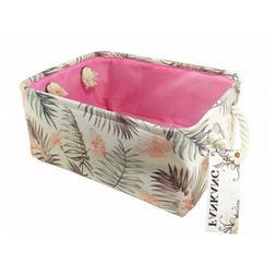 Rectangular Fabric Storage Bin Toy Box Laundry Basket Nurser