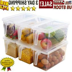 Refrigerator Storage Box Food Container Kitchen Fridge Organ