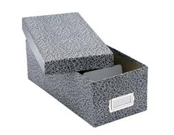 "Oxford Reinforced Board 6"" x 9"" Index Card Storage Box with"