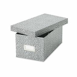 Oxford 40589 Reinforced Board Card File, Lift-Off Cover, Hol