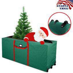Rolling Christmas Tree Storage Wheel Duffle Bag Box Large He